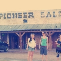 On the road: Pioneer Saloon